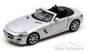 mercedes sls amg convertible mercedes sls amg roadster convertible silver maisto 34272