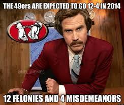 Classy Guy Meme - san francisco 49ers suck nfl memes nfl memes on twitter 12 4