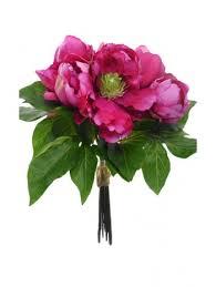 Faux Peonies Peonies Artificial Flowers