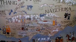 Tibetan Plateau Map Map Of Tibet Plateau At Norbulingka Institute Dharamsala Youtube