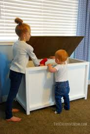storage chest or toy box building plans the creative mom