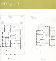6 Bedroom Floor Plans Downloads For Meadows Dubai