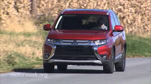motorweek road test 2016 mitsubishi outlander gt youtube