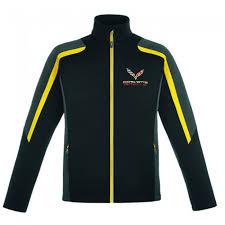 corvette racing jacket corvette racing fleece jacket black yellow gray fleece