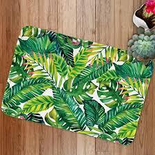 Palm Tree Bathroom Rug Banan Leaf Bath Mats By Goodbath Tropical Palm Tree