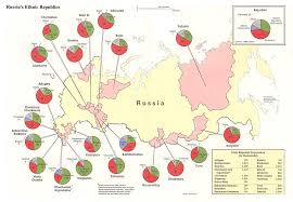 Ethnic Map Of Europe by Expert Looming Ethnic Conflicts In Russia Will Be U0027more