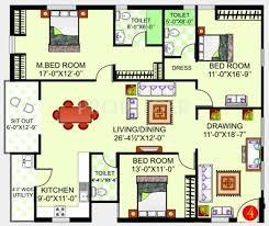 mcg floor plan 2025 sq ft 3 bhk floor plan image gauthami mcg residency