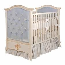 afk french panel upholstered crib tufted