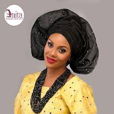 african make and asooke hair styles nigerian wedding yellow buba black aso oke by molbaks makeup by