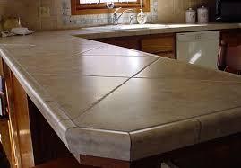Tile Kitchen Countertops Ideas Travertine Tile Countertop Ideas Nisartmacka