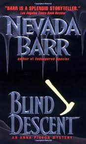 Blind Side Book Review Blind Descent Anna Pigeon 6 By Nevada Barr