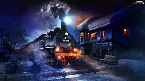winter station trains wallpapers 1920x1080