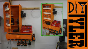 french cleat drills bits charging station youtube