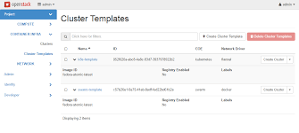 openstack heat template openstack docs magnum user guide
