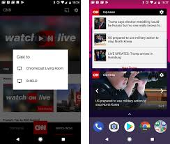 cnn app for android cnn app update reintroduces widgets and adds chromecast