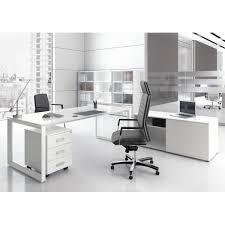 bureau de direction blanc bureau direction 5th elément finition verre blanc fabricant las