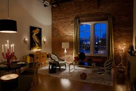 exposed brick wall lighting 29 eposed brick wall ideas for living rooms decor lovedecor love