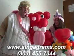 balloon telegram denver singing telegram cupid denver balloon delivery