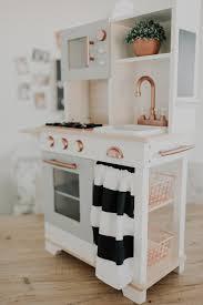 pretend kitchen furniture diy farmhouse modern play kitchen do it yourself pretend kitchen