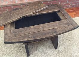 whiskey barrel coffee table frontroom furnishings