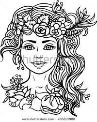 detailed lion aztec filigree art stock vector 441877249