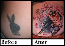 playboy bunny robin coverup tattoo by thirteen7s on deviantart