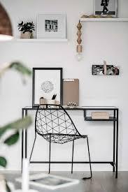 coin bureau design 30 idées pour aménager un coin bureau dans un petit salon