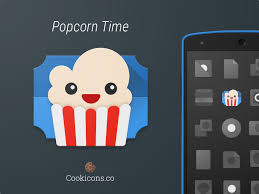 popcorn time apk popcorn time product icon update official uplabs