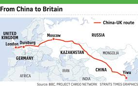 China Train Map by New Silk Road U0027s Impact On Shipping Will Be Limited Business News