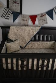 Vintage Aviator Crib Bedding Bedding Best Images About Transportation Theme Nursery On Baby