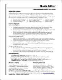 resume templates business administration great administrative assistant resumes administrative assistant
