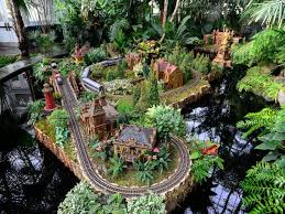 Train Show Botanical Garden by Holiday Train Show Things To Do In New York