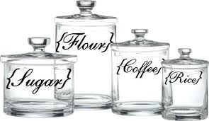 labels for kitchen canisters flour sugar coffee kitchen canisters seo03 info