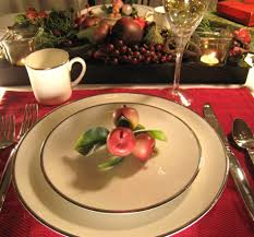 Plate Decorating Ideas For Desserts Holiday Decoration Inspiring Christmas Banquet Table Decoration