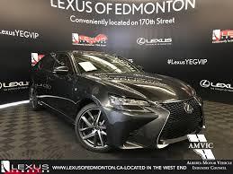 lexus new 2018 new 2018 lexus gs 350 f sport series 2 4 door car in edmonton