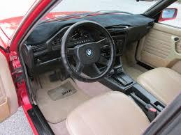 Bmw E30 Interior Restoration Bmw 3 Series Sedan 1989 Red For Sale Wbaad230xk8849666 Bmw