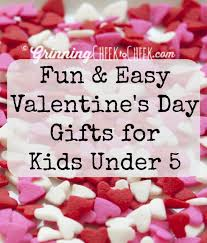 fun and easy valentine u0027s day gifts for kids under 5 gifts vday