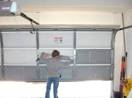 clopay garage door seal garage keep your garage stay warm with garage door insulation