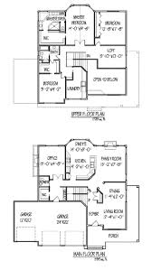 2 story floor plans with garage stunning 2 story house plans with garage home design javiwj