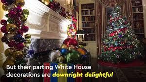 white house christmas decorations 2016 video popsugar celebrity