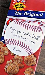 Personalized Cracker Jack Boxes 45 Best Coopers 1st Birthday Baseball Images On Pinterest