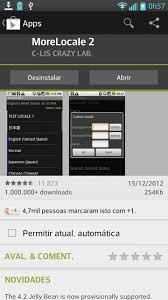 more locale apk mude o idioma de qualquer aparelho android usando o morelocale2