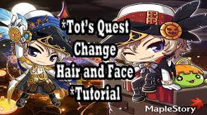 maplestory hair style locations 2015 maplestory free hair style coupon vip tot s quest youtube
