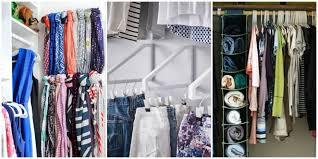 organization of closet storage ideas