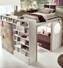 Space Bedroom Ideas by Small Space Loft Bedroom Smartly Arranged I Thought This Was A