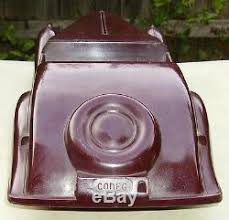 codeg toy art deco bakelite streamlined 2 seater sports car 13 5