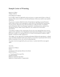 tenant warning letter