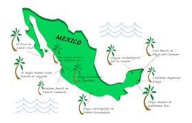 Mexico Beach Map by 10 Must See Mexican Beaches Shenow