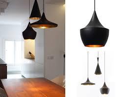 le suspension cuisine suspension 3 abats jours noir design forme differente en noir mat