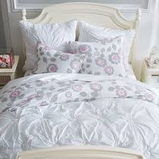 awesome hadley ruched duvet cover sham pottery barn regarding
